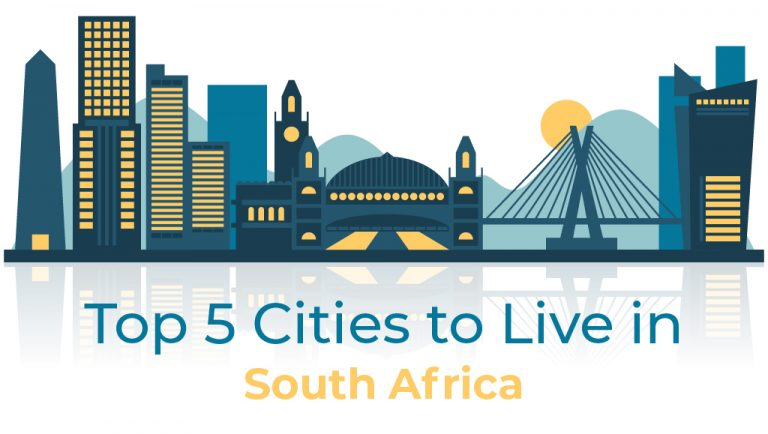 5 Best Cities to Live in South Africa in 2020-21